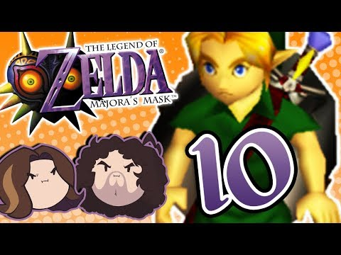 Zelda Majora's Mask: Getting to the High Place - PART 10 - Game Grumps