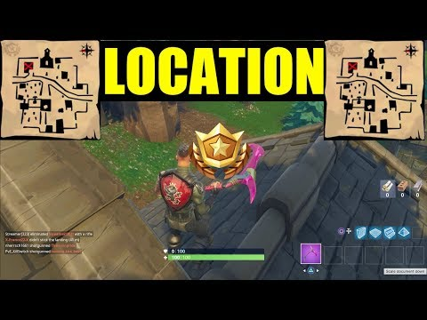 """Follow the treasure map found in Snobby Shores"" Season 5 Location Hidden Battlestar Week 5 MAP"