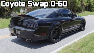 How Fast Can My Coyote Swap Get To 60 mph! *0-60 Test!*