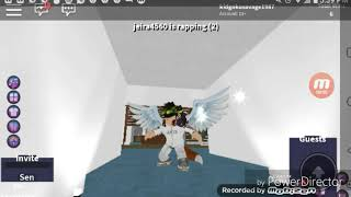 Playing roblox rap battles in my [MANTION]