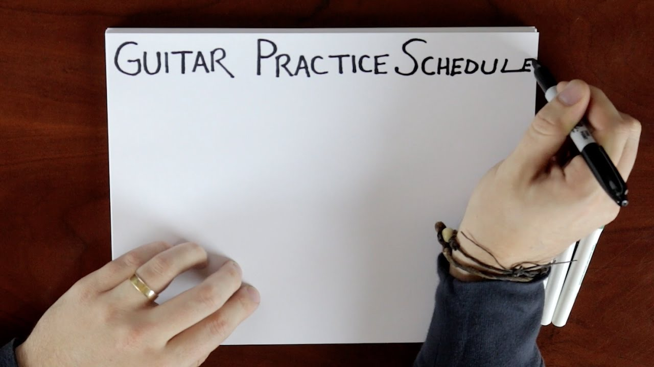 how to plan a guitar practice routine youtube. Black Bedroom Furniture Sets. Home Design Ideas