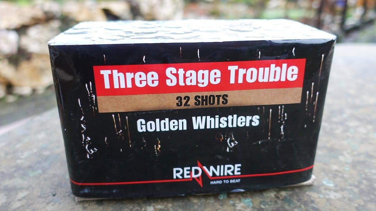 Lesli Three Stage Trouble | Was ist das denn? | 3 times screamer firework battery [Full HD]