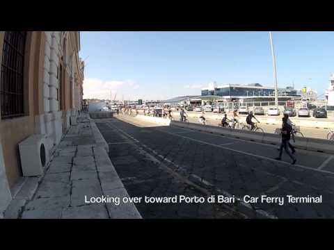 Walking the Port of Bari, Italy - MSC Preziosa - 24 August 2014