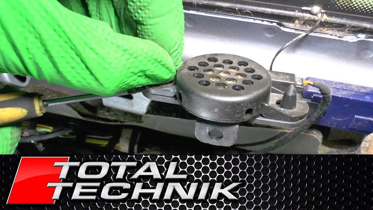 How to Remove Rear Parking Sensor Buzzer - Audi A6 S6 RS6 - C5 - 1997-2005  - TOTAL TECHNIK