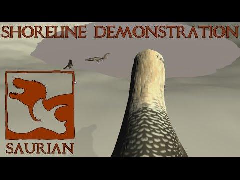 Saurian Shoreline Demonstration BONUS