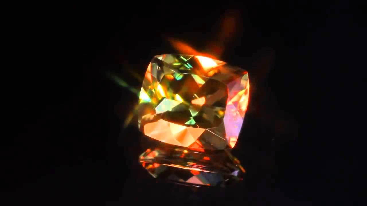 Портясающий камень Султанит (zultanite) - все цвета радуги