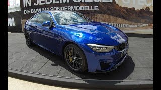 BMW M4 CS ! NEW MODEL 2017 (F82) ! SAN MARINO BLUE COLOUR ! WALKAROUND ! R6 BITURBO 460HP !