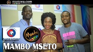 Florence Andenyi Live On Mambo Mseto(Radio Citizen) With Mzazi Willy Tuva.