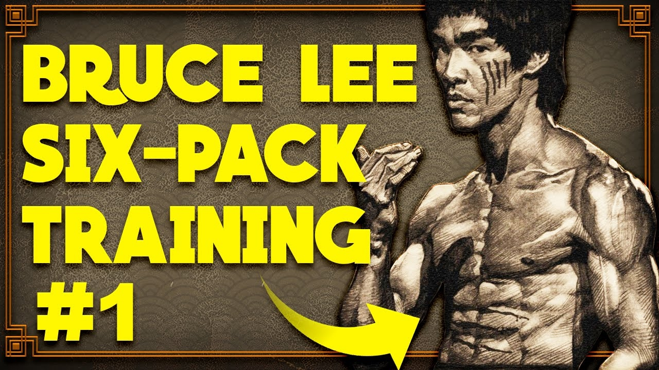 Real Bruce Lee Abdominals Workout 1: Dragon Flags