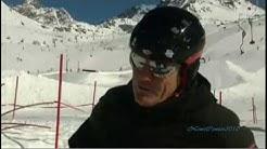 Dieter Bohlen lernt Skifahren