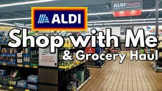 Aldi Shop with Me+Grocery Haul with Prices!