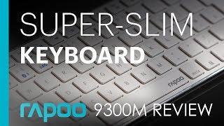 Ultra-slim, Metal Windows Keyboard & Mouse - Rapoo 9300M