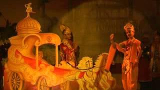 """""""krishna-Arjun Samvad..."""" Mahabharat se Mahan Bharat tak,Red Rose Lambakheda ,Bhopal,9 Dec.,2011."""