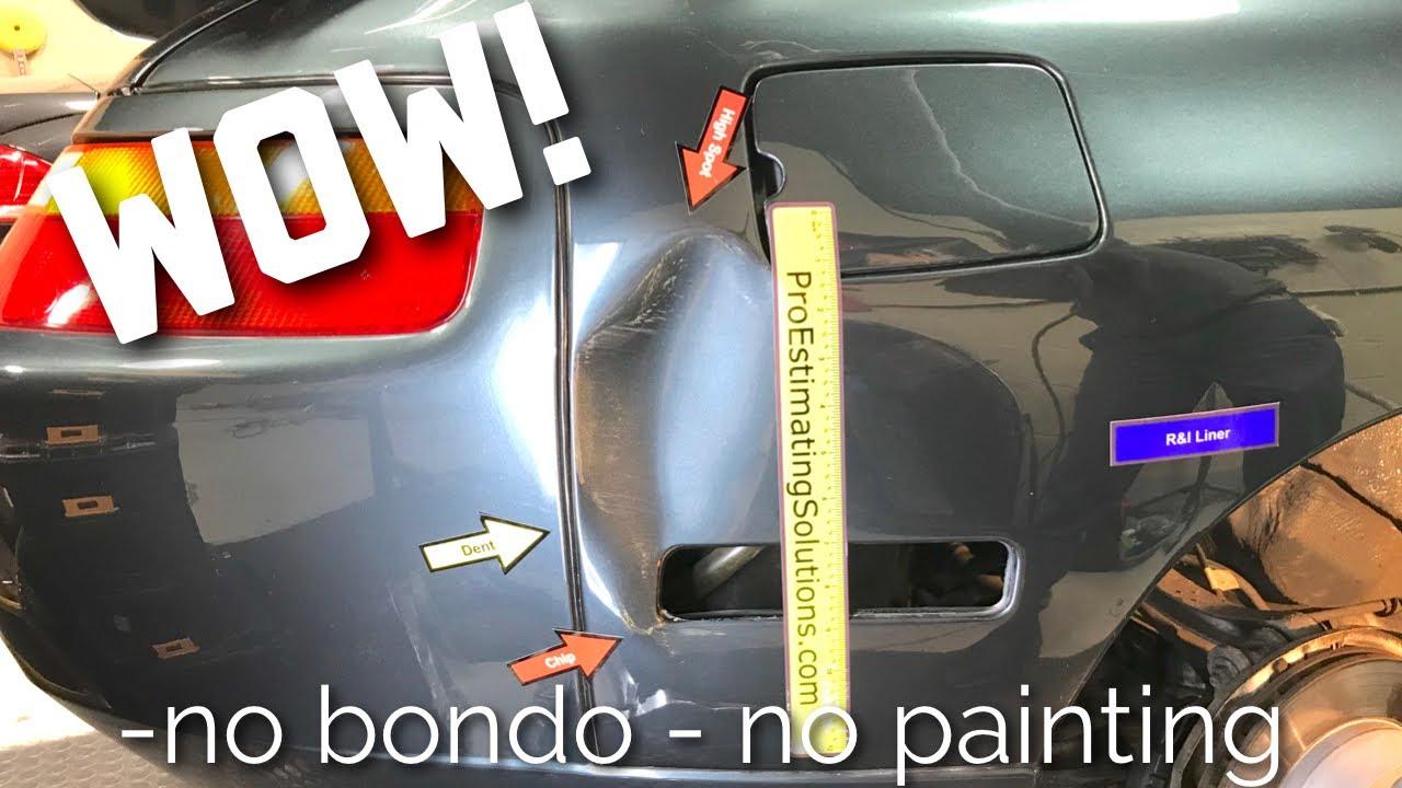 Porsche 928 Gts Paintless Dent Repair Dentless Touch