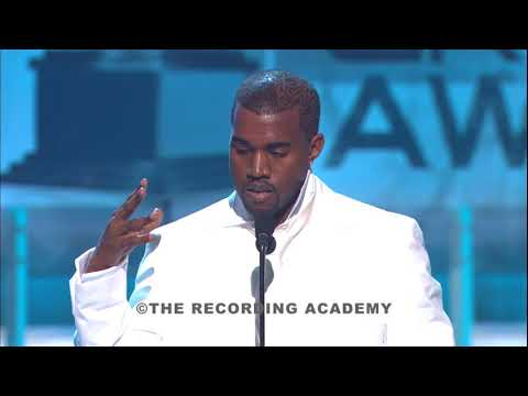 2005 - Kanye West Wins Grammy Best Rap Album: The College Dropout (Speech)