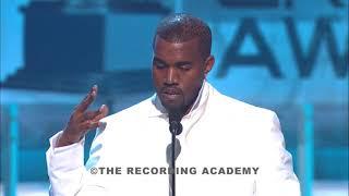 2005 - Kanye West Wins Grammy Best Rap Album: The College Dropout (Speech)