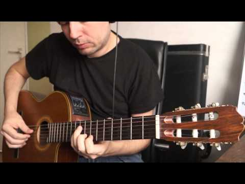 Guitar intro/ solo from Cancion del mariachi (Los lobos, Antonio Banderas, Desperado) - Cover