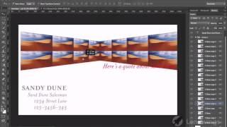 18  Объединение групп. Видеокурс Photoshop для начинающих.