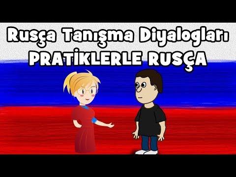Rusça Tanışma Diyalogları l Tanışma Cümleleri ve Hazır Diyaloglar