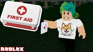 WHAT HAPPENS WHEN YOU USE THE MED KIT in ROBLOX CAMPING