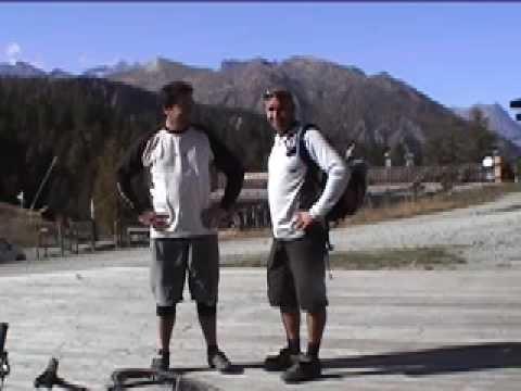 Serre Chevalier ski instructor gets on his mountain bike  YouTube