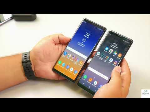 Сравнение Samsung Galaxy Note 9 и Note 8