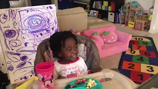 Faith singing songs from Moana and Frozen is all the entertainment you'll ever need!