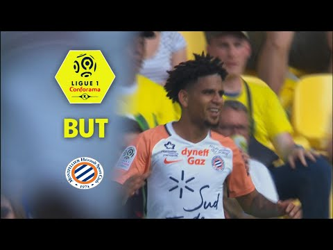 But Keagan DOLLY (51') / FC Nantes - Montpellier Hérault SC (0-2)  (FCN-MHSC)/ 2017-18