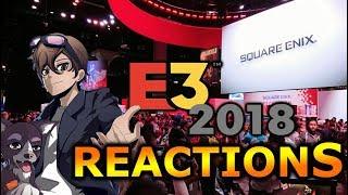 Square Enix Press Conference E3 2018 | Reactions