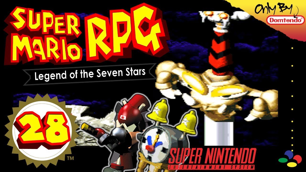 SUPER MARIO RPG: LEGEND OF THE SEVEN STARS ⭐ #28: Boomer, Exor & Count Down  Battle