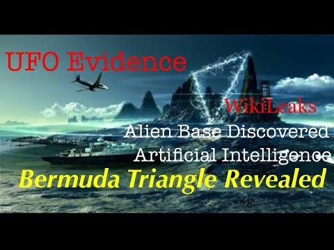 NEW WikiLeaks: UFO Base Found in BERMUDA TRIANGLE & Shocking GMO info & A.I.