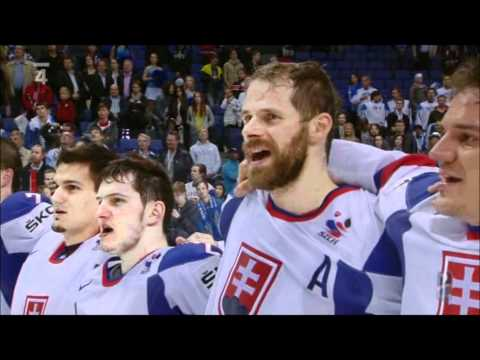 Slovenská hymna / National anthem of Slovakia (Canada - Slovakia 2012)