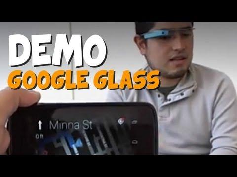 Google Glass Demo