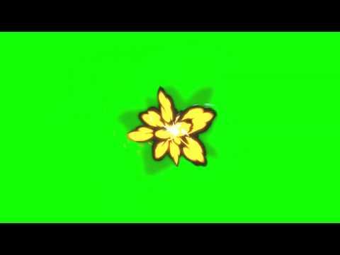 Мультяшные эффекты на зеленом и черном фоне