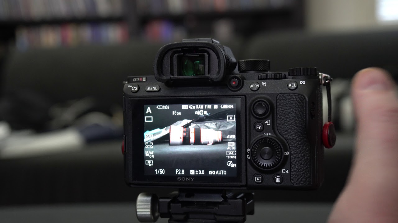 sony a7R iii / a7iii auto focus while zooming and a few other tricks