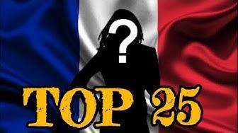 TOP 25 DES ACTRICES FRANÇAISES