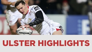Guinness PRO12 Rd 14 Highlights - Ulster Rugby v Edinburgh Rugby