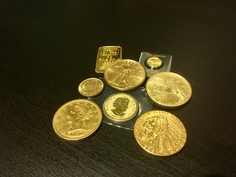 My Gold Coin Collection Video 1/17