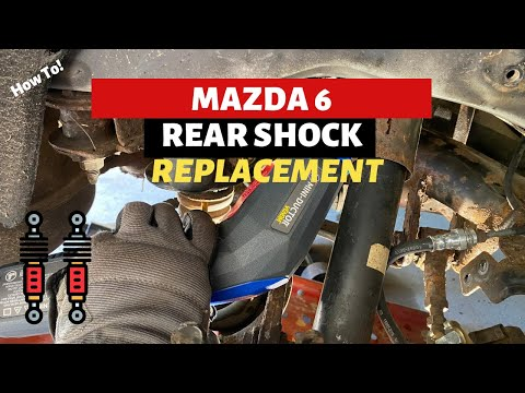 Mazda 6 Rear Shock Replacement | How To