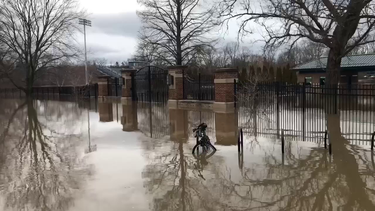 Michigan State Campus >> Flooding On Michigan State Campus