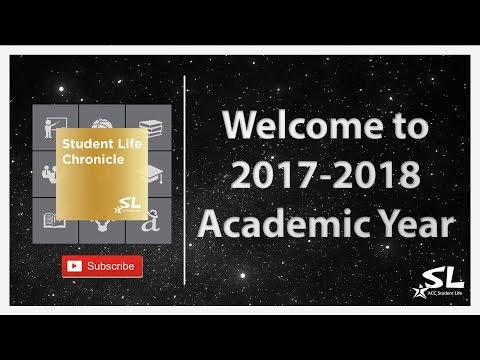 Welcome to 2017-2018 Academic Year