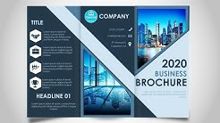 How to make a Brochure in PowerPoint / Print Ready design
