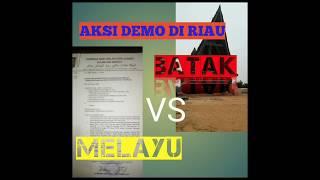 Download lagu MELAYU VS BATAK NYARIS BENTROK DI RIAU GARA-GARA INI