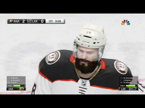 NHL® 18 PS4 Pro Gameplay Anaheim Ducks vs Los Angeles Kings.