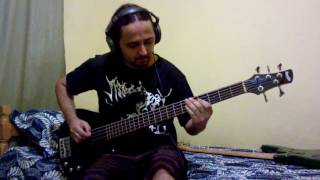 Tributo My Dying Bride - The Raven and the Rose - Bass Cover