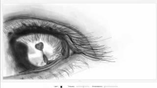Как я рисую граффити вконтакте (видео 2) (Красивый глаз)(Комментируйте) Я в контакте http://vk.com/spustilsya_s_nebes., 2012-01-29T14:59:50.000Z)