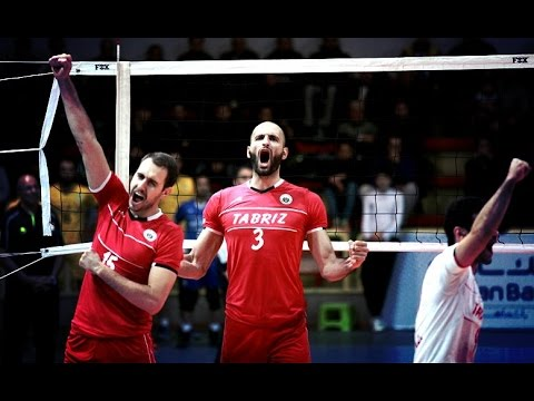 Shahrdari Tabriz 3 - 0 Shahrdari Urmia | Iran Volleyball Super League 2015/16