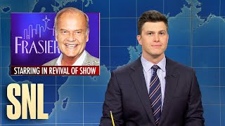 Weekend Update: Frasier Revival & Muppet Show Warning - SNL