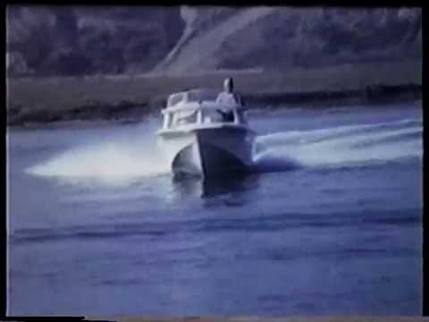 Glasspar Boats Water Testing 1959 Youtube