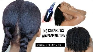 *NO CORNROWS* Natural Hair Wig Prep Routine *START ➭ FINISH* Hairvivi $60 Off Black Friday Sale!